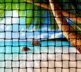 Обои на телефон твист, рай, тропические