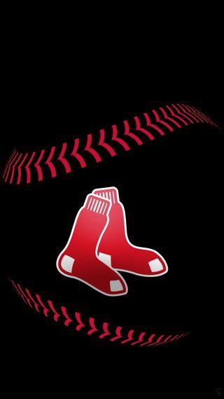 Обои на телефон бейсбол, светящиеся, красые, дизайн, бостон, red sox glow design, red sox