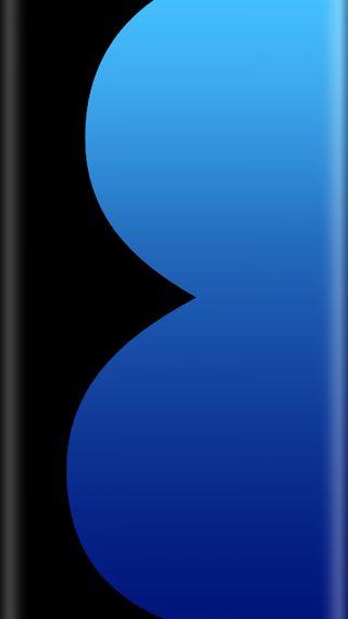 Обои на телефон черные, стандартные, синие, самсунг, грани, галактика, samsung, galaxy s8, digit eight