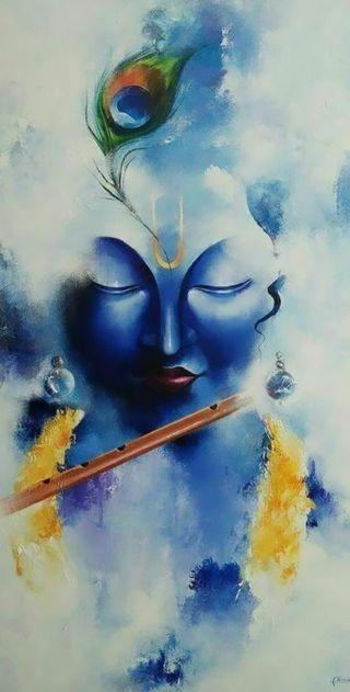 Обои на телефон вера, тема, природа, любовь, жизнь, бог, mor pankh, love, krishnaji, kanha ji, flute