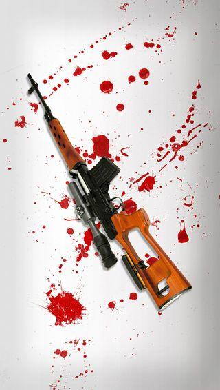 Обои на телефон снайпер, смерть, оружие, кровь, выстрел, винтовка, svd, kill