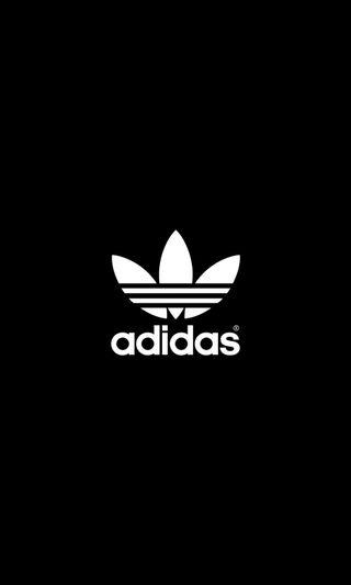 Обои на телефон адидас, черные, маленький, классика, белые, adidas classic small, adidas