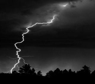Обои на телефон гром, шторм, удивительные, ночь, небо, thunder storm