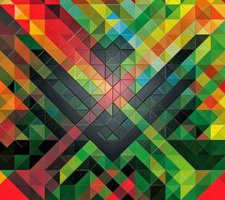 Обои на телефон дикие, шаблон, треугольник, текстуры, плитка, wild pattern, 3д, 3d