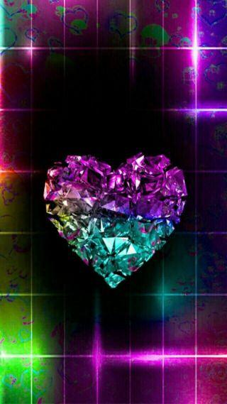 Обои на телефон бриллиант, сердце, of diamond, heart of diamond