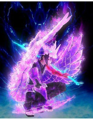 Обои на телефон учиха, сусаноо, саске, наруто, бог, аниме, sasuke amped, god power