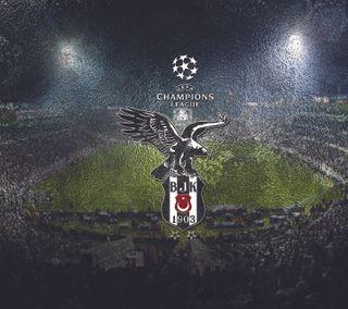 Обои на телефон чемпионы, логотипы, лига, бесикташ, sampiyonlar ligi, s3, bjk, besiktas logo 2