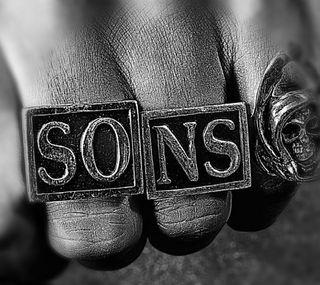 Обои на телефон шоу, тв, сыны анархии, сыны, мотоциклы, кольцр, анархия, sons of anarchy ring, fx