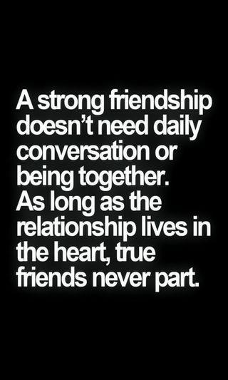 Обои на телефон сильный, вместе, сердце, друзья, дружба, daily, conversation