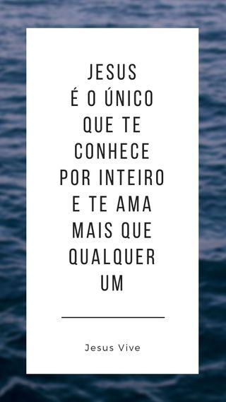 Обои на телефон исус, синие, океан, любовь, бог, palavra, jesus vive, graca