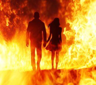 Обои на телефон руки, ты, пара, огонь, навсегда, любовь, вместе, love, i love you, holding hands