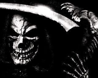 Обои на телефон готические, череп, темные, смерть, мрачные, меч, жнец