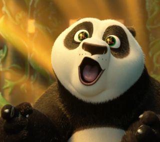 Обои на телефон панда, воины, po impressed, po, kung fu panda, hall of warriors
