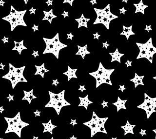 Обои на телефон векторные, черные, звезды, белые, абстрактные
