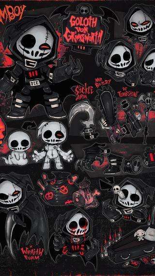 Обои на телефон скейт, сумасшедшие, ночью, ночь, мрачные, жнец, граффити, бренды, арт, five, art