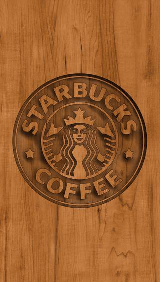 Обои на телефон старбакс, логотипы, дерево, starbucks wood logo
