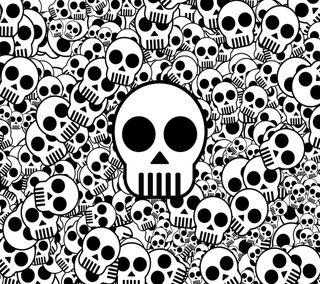 Обои на телефон лол, черные, череп, страшные, простые, мальчик, крутые, белые, wallpape, skull wallpaper, lol