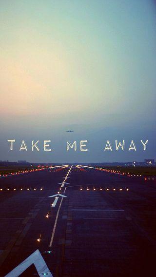Обои на телефон я, далеко, take me away, take me