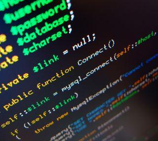 Обои на телефон код, software, programming, php