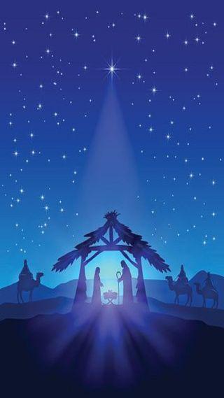 Обои на телефон семья, святой, рождество, holy family