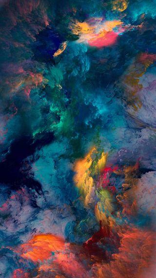 Обои на телефон шторм, цветные, удивительные, микс, космос, вселенная