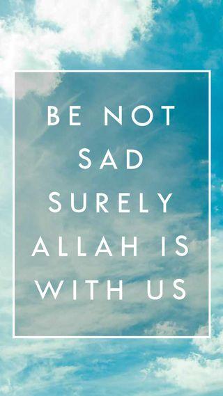 Обои на телефон каран, религия, мусульманские, исламские, ислам, грустные, будь, бог, аллах, islam muslim, be not sad