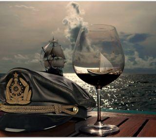 Обои на телефон корабли, небо, море