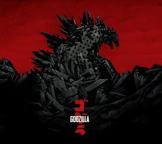 Обои на телефон японские, дракон, годзилла, sreefu, monster, kaiju, godzilla 2014, giant, dragon