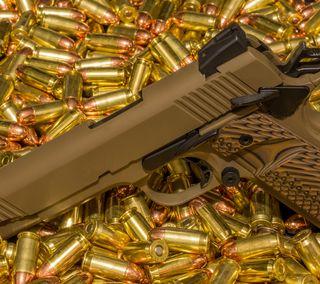 Обои на телефон стальные, оружие, металл, bullet
