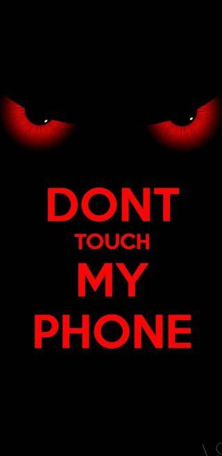 Обои на телефон экран, трогать, телефон, не, мой