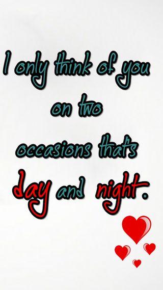 Обои на телефон думать, цитата, случаи, поговорка, ночь, новый, любовь, крутые, знаки, день, love, day and night