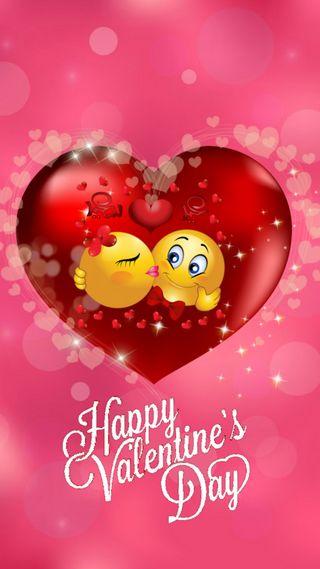 Обои на телефон смайлик, сердце, поцелуй, любовь, день, love, 720x1280px