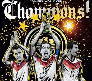 Обои на телефон чемпионы, германия, muller, klose, gotze, germany 2014 winners, 2014