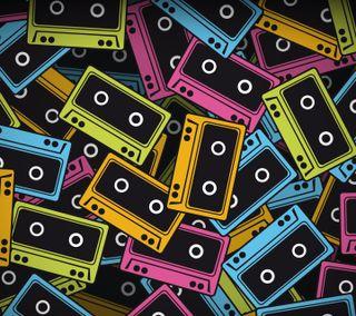 Обои на телефон музыка, tapes, audio