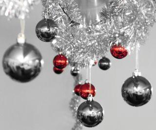 Обои на телефон украшение, рождество, redgrey xmas
