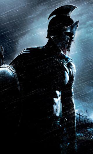 Обои на телефон бой, фантазия, подъем, дождь, греческий, греция, война, воин, 300