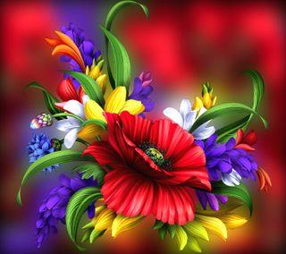 Обои на телефон цветы, -------------