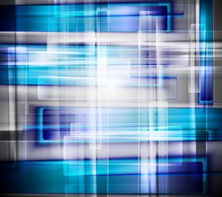 Обои на телефон квадраты, фон, современные, сияние, синие, новый, неоновые, дизайн, векторные, blue squares