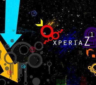 Обои на телефон цветные, сони, логотипы, дизайн, абстрактные, xperia z1, xperia, sony, one, hd