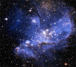 Обои на телефон ночь, космос, звезды, into the stars