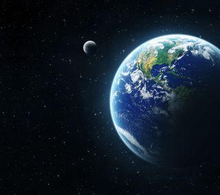 Обои на телефон космос, земля