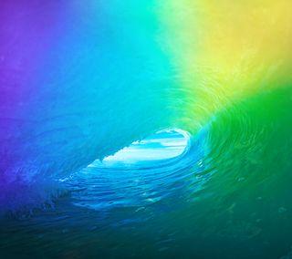 Обои на телефон эпл, океан, море, волна, вода, айфон, iphone, ios 9, ios, apple