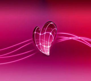 Обои на телефон анимационные, сердце