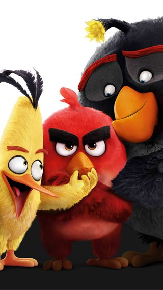 Обои на телефон фильмы, птицы, злые