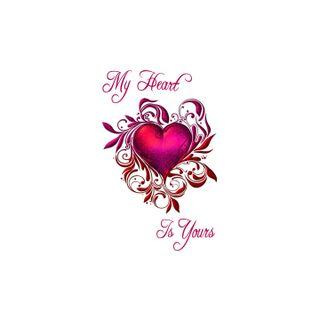 Обои на телефон специальные, ты, сердце, романтика, розовые, мой, любовь, валентинка, yours, sweetheart, my heart is yours, love