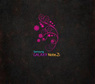 Обои на телефон цветные, фиолетовые, самсунг, логотипы, дизайн, галактика, samsung, note3, galaxy