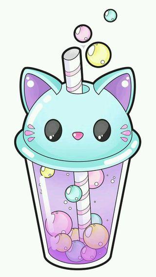 Обои на телефон каваи, пастельные, милые, кошки, коты, smoothie, cat smoothie