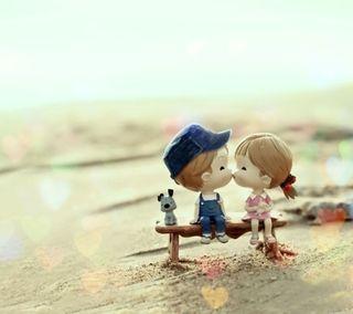 Обои на телефон страсть, поцелуй, любовь, love, kiss of love