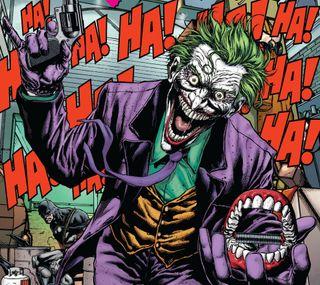 Обои на телефон джокер, бэтмен, dc