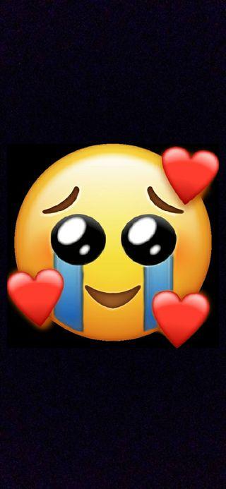 Обои на телефон эмоджи, сломанный, сердце, любовь, грустные, sad emoji, lovemoji, love, cry emoji, cry, brokenheart